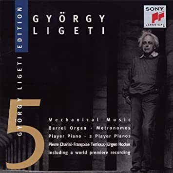György Ligeti Edition 5, Mechanical Music